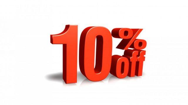10% Sconto preventivi on line