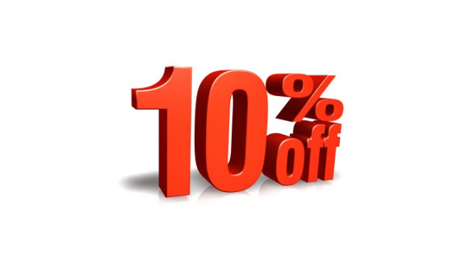 10% Sconto preventivi on line